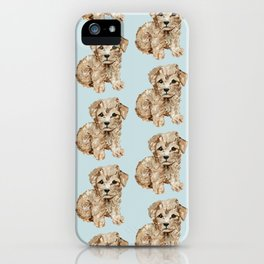 Schnoodle Pups iPhone Case