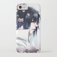 sasuke iPhone & iPod Cases featuring Sasuke Uchiha by Clockworkjoker92