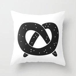 Pretzel Time Throw Pillow