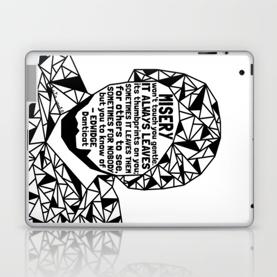 Oscar Grant - Black Lives Matter - Series - Black Voices Laptop & iPad Skin