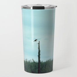 the dolphin is in the jacuzzi Travel Mug