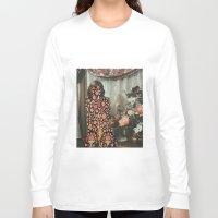 karen Long Sleeve T-shirts featuring Karen by Mariano Peccinetti