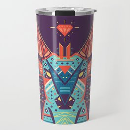 Symmetric Animals. DEER Travel Mug