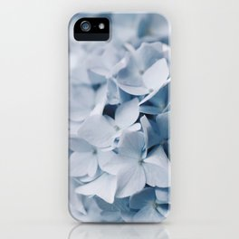 Blue Hydrangea Photography iPhone Case