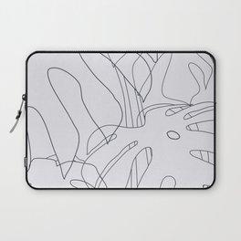 Monstera Illustration 02 Laptop Sleeve