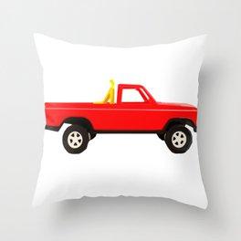Jump the Hump Throw Pillow