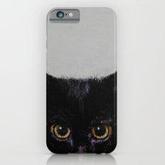 Black Kitten Slim Case iPhone 6s