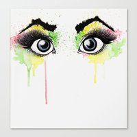 rasta Canvas Prints featuring Rasta Sight by art by jv