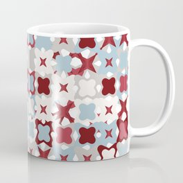 Colorful Abstract Random StarsTexture, Background Pattern Coffee Mug