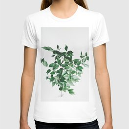 Minimal Green Plant Arrangement T-shirt