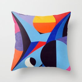 Shark - Paint Throw Pillow