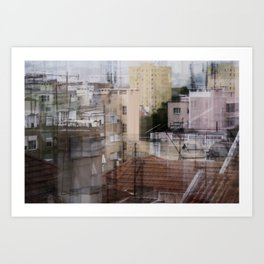 Deconstruction #18 Art Print