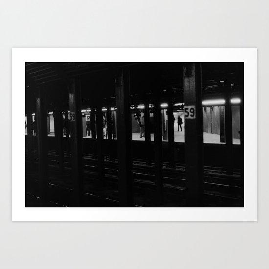 59th Street Subway Station No. 1 Art Print