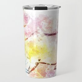 Bear Under the Moon Travel Mug