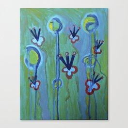 Blue Jolt Canvas Print