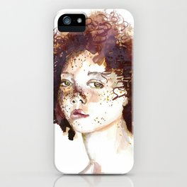 freckles boy iPhone Case