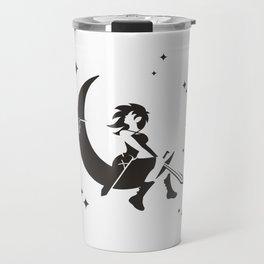 The Girl Who Kills The Moon Travel Mug