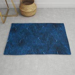 Moon Rock in Stonewash Blue Denim Rug
