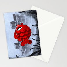 RED & BLUE Stationery Cards