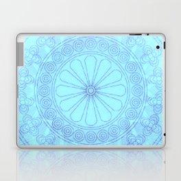 Mandala blue Laptop & iPad Skin
