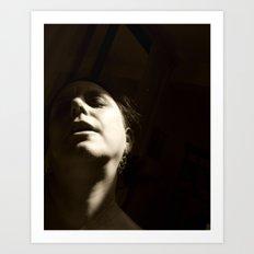 Shadow Me Art Print