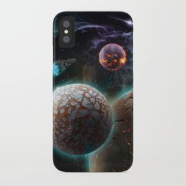 Deep Space Flare iPhone Case