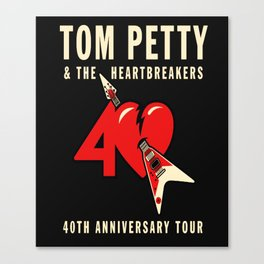 Tom Petty & The Heartbreakers 2017 Canvas Print