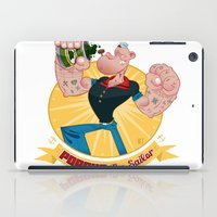 popeye iPad Cases featuring popeye by spundman
