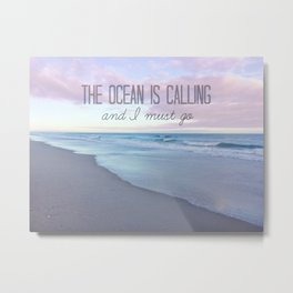 Sounds Of The Sea Metal Print