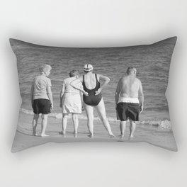 Friends At The Beach Rectangular Pillow