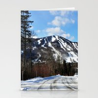 vermont Stationery Cards featuring Vermont Mountain by Tamsin Lucie