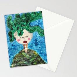 She Was Clothed Stationery Cards