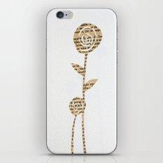 Papercut Flower 1 iPhone & iPod Skin