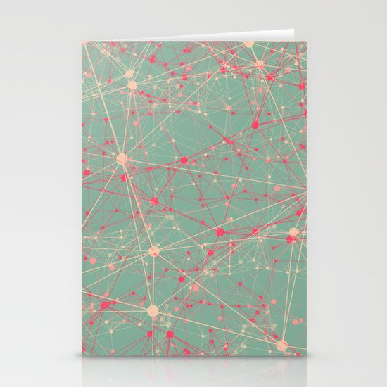 LINK abstract I Stationery Cards