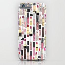 Lipstick Decoys iPhone Case