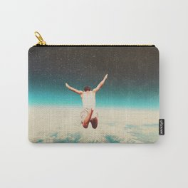 Falling with a hidden smile Carry-All Pouch