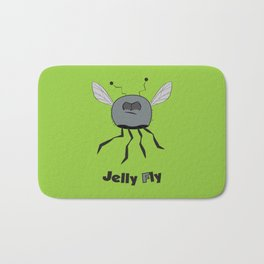 Jelly Fly Bath Mat