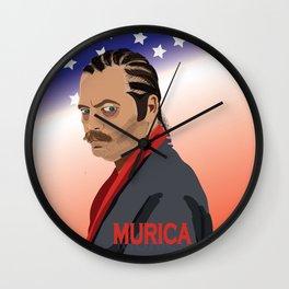 Murica, It's been a crazy night. Wall Clock