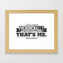 Phenomenal! Framed Art Print
