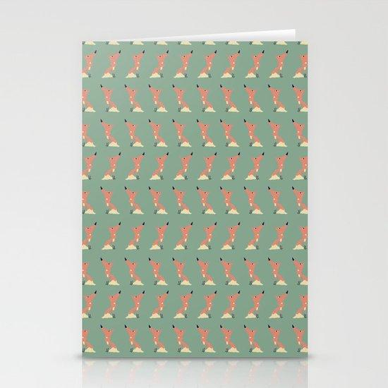 Freddie the Fox - Pattern Stationery Cards