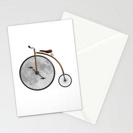 La bicicleta y la luna Stationery Cards