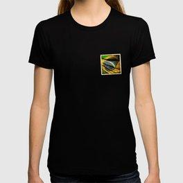 Sticker of Brazil flag T-shirt