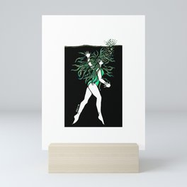 What is dead may never die! Mini Art Print