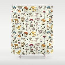 Fungus pattern Shower Curtain