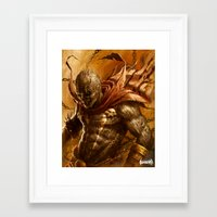 spawn Framed Art Prints featuring Spawn by James Bousema