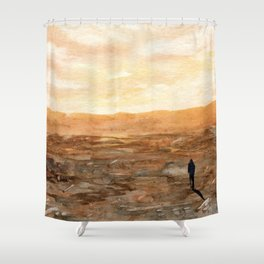 Not Here Shower Curtain