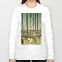 marina Long Sleeve T-shirts featuring marina by gzm_guvenc