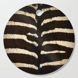 Zebra Cutting Board