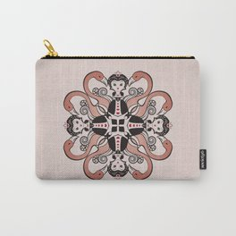 Queen of Hearts mandala Carry-All Pouch