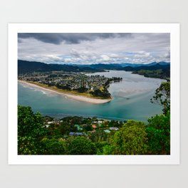 Paku Summit View Art Print
